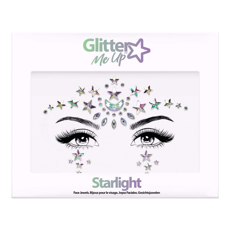 Festival Face Jewels - Starlight - Jolie Beauty (4457562275915)