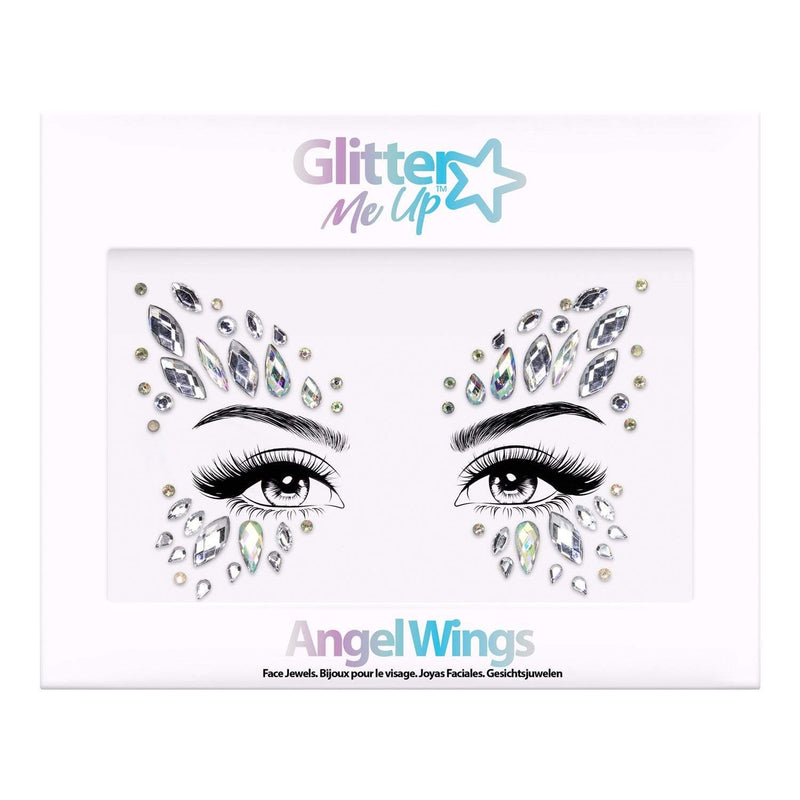 Festival Face Jewels - Angel Wings - Jolie Beauty (4457566404683)