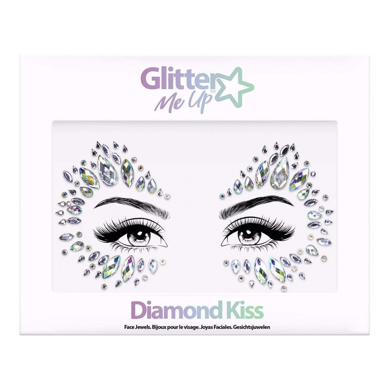 Festival Face Jewels - Diamond Kiss - Jolie Beauty (4457567256651)