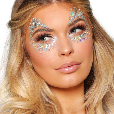 Festival Face Jewels - Diamond Kiss - Jolie Beauty