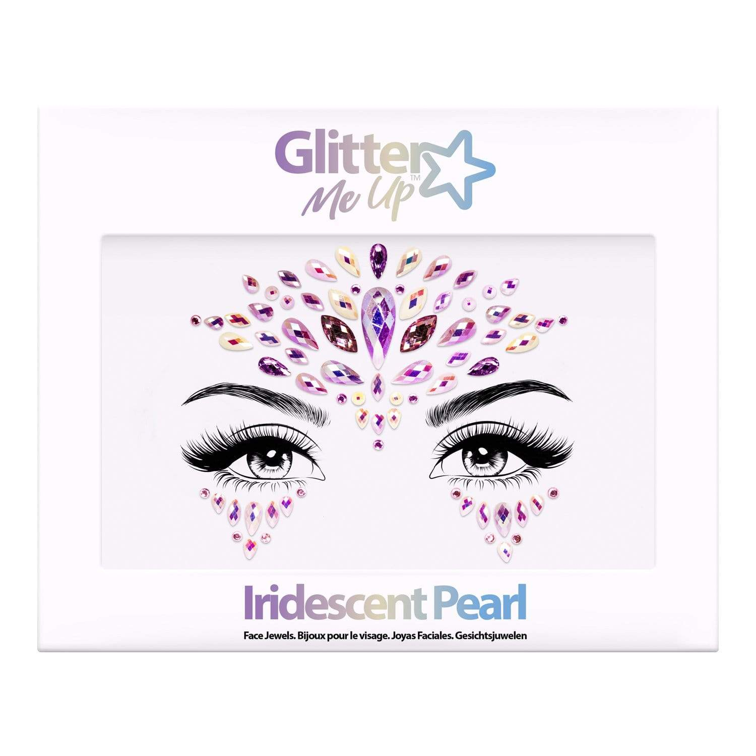 Festival Face Jewels - Iridescent Pearl - Jolie Beauty (4457567977547)