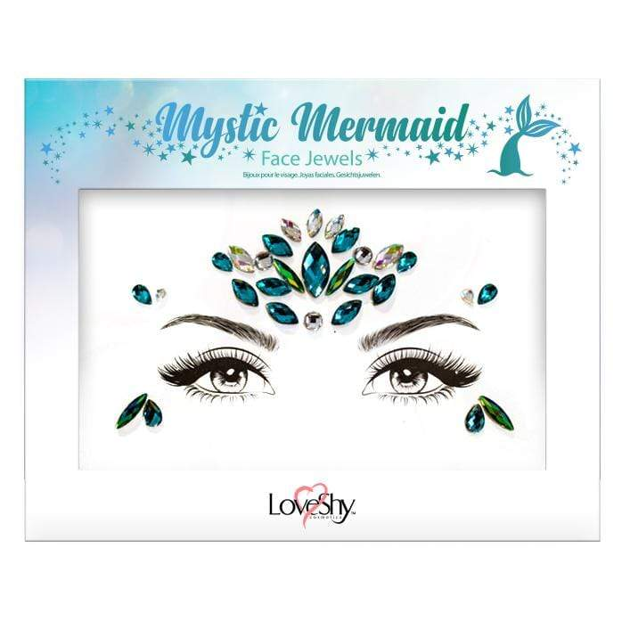 Festival Face Jewels - Mystic Mermaid - Jolie Beauty (3672559190091)