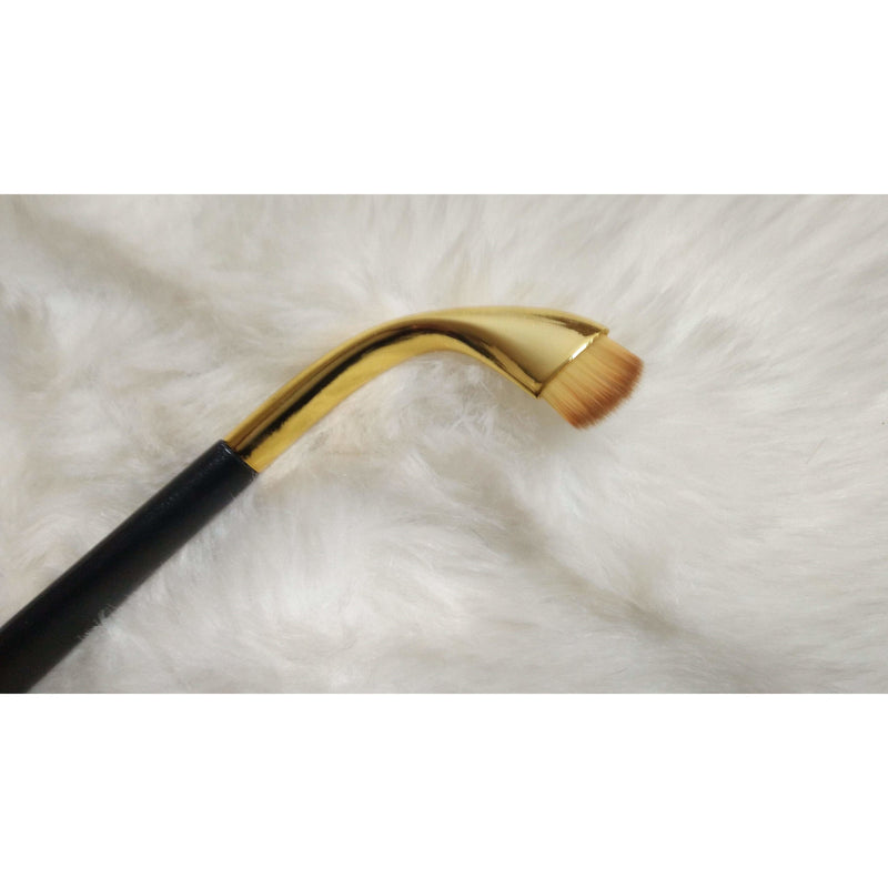 Single Oval Brush F07 - Small Carving Brush - Jolie Beauty