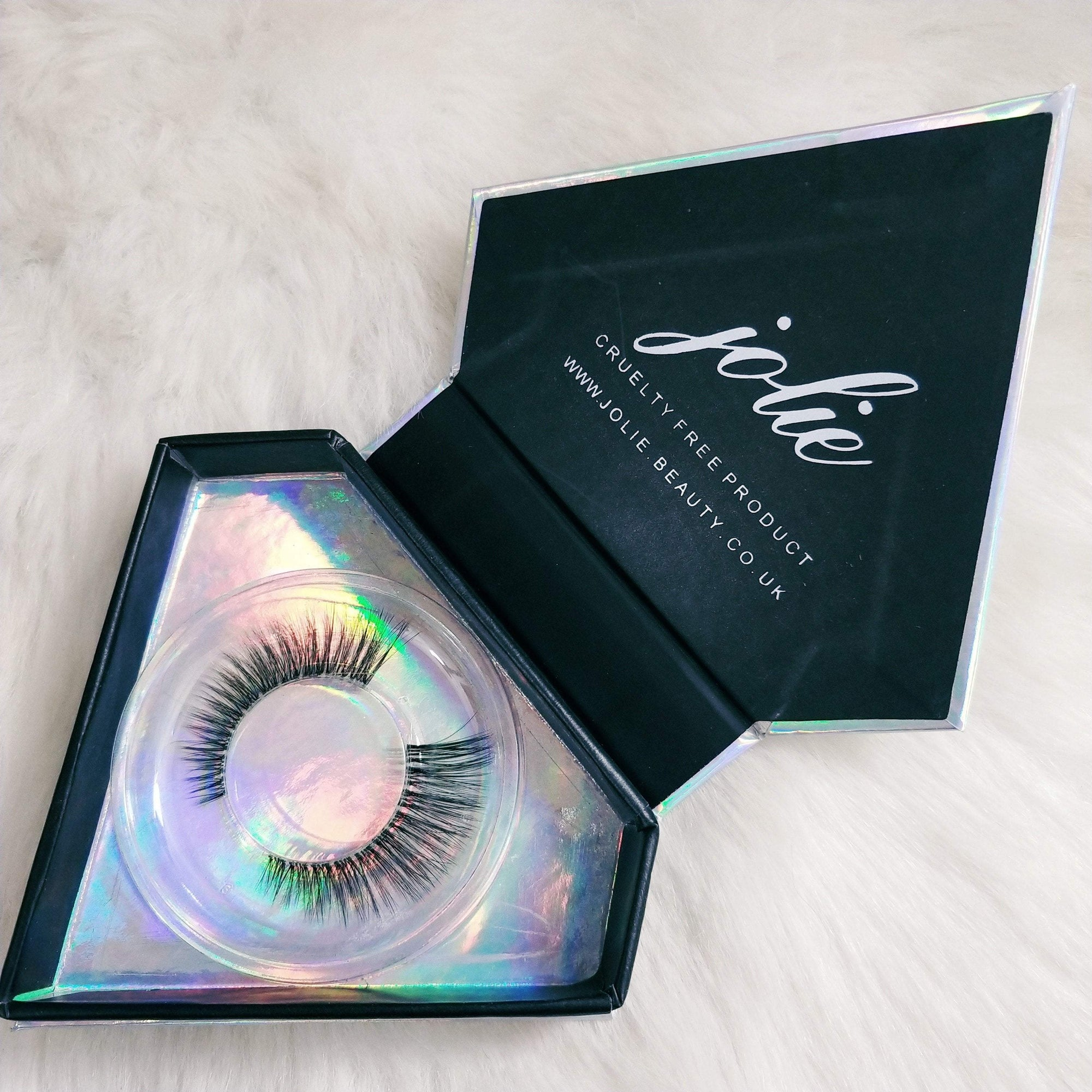<h1>Slayin Lashes</h1> - AMELIA - Clear Band - Jolie Beauty