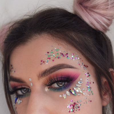 Biodegradable Chunky Mixed Festival Glitter - Unicorn Hopes - Jolie Beauty