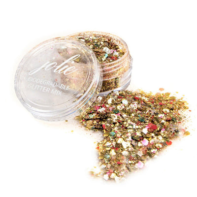 Biodegradable Chunky Mixed Festival Glitter - Trophy Wife - Jolie Beauty
