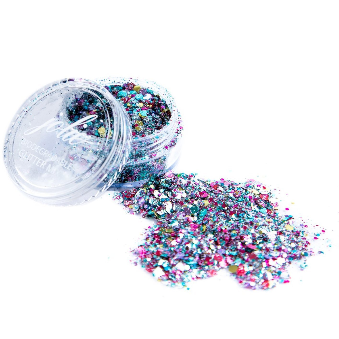Biodegradable Chunky Mixed Festival Glitter - Unicorn Hopes