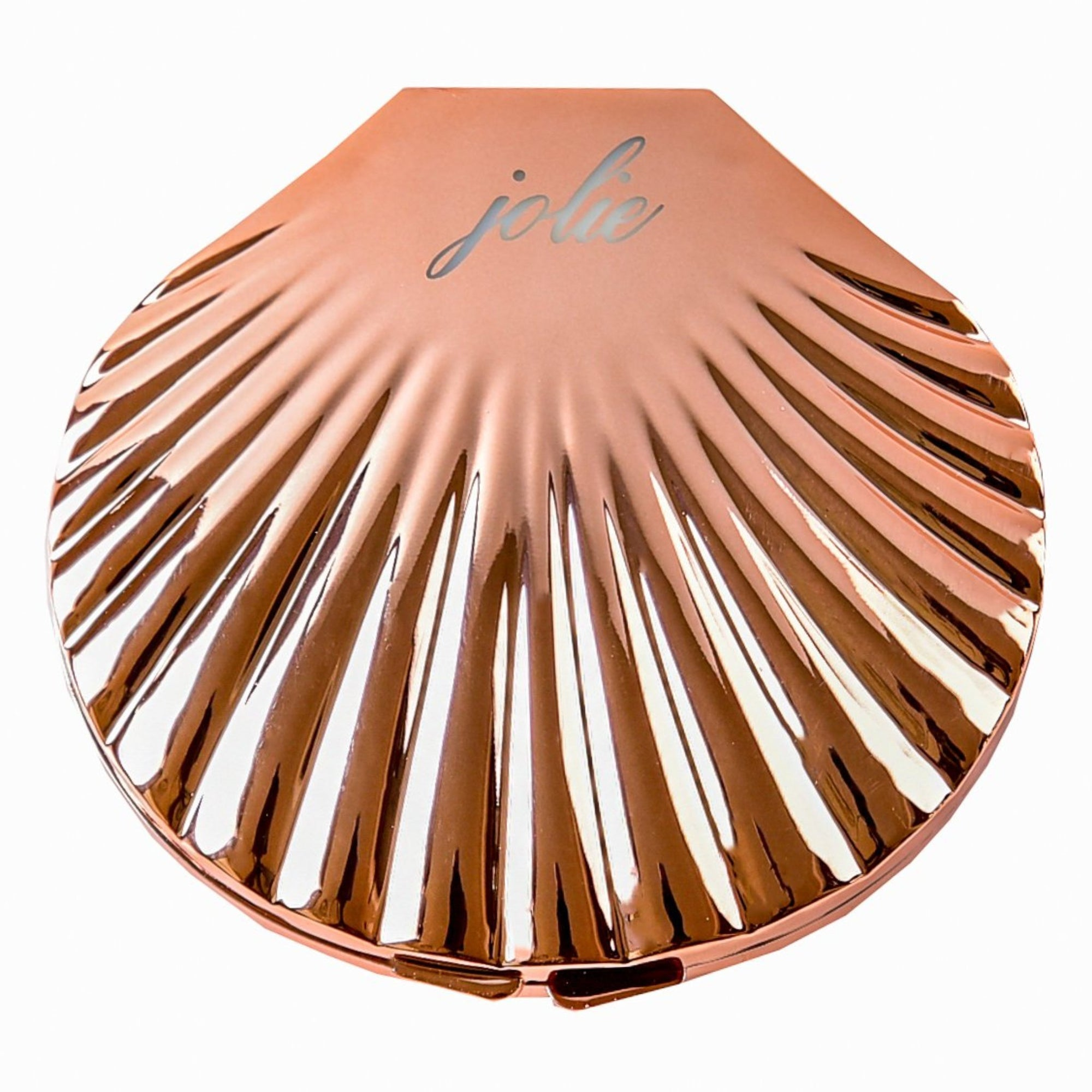 Rose Gold Compact Mermaid Mirror - Jolie Beauty