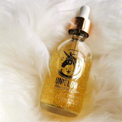 UniGlow JUMBO Size -  Gold Skin Perfecting Elixir (60ml) - Jolie Beauty