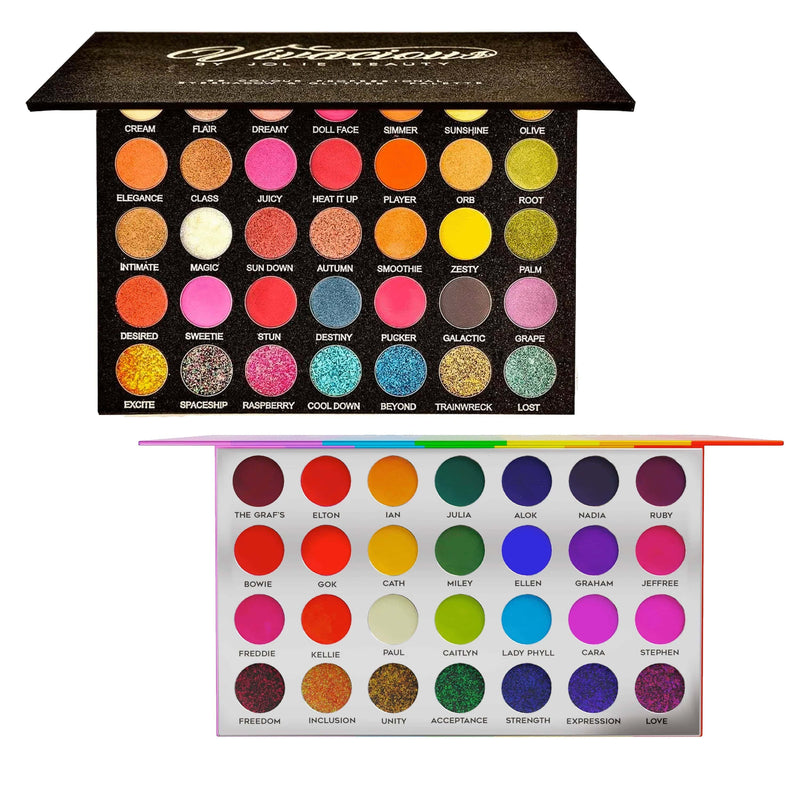 Vivacious & Proud Palette Bundle - Jolie Beauty