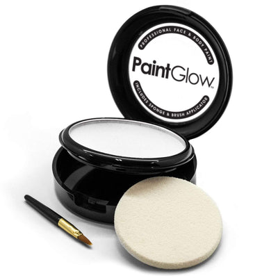 Face Paint Cake - White (10g) - Jolie Beauty