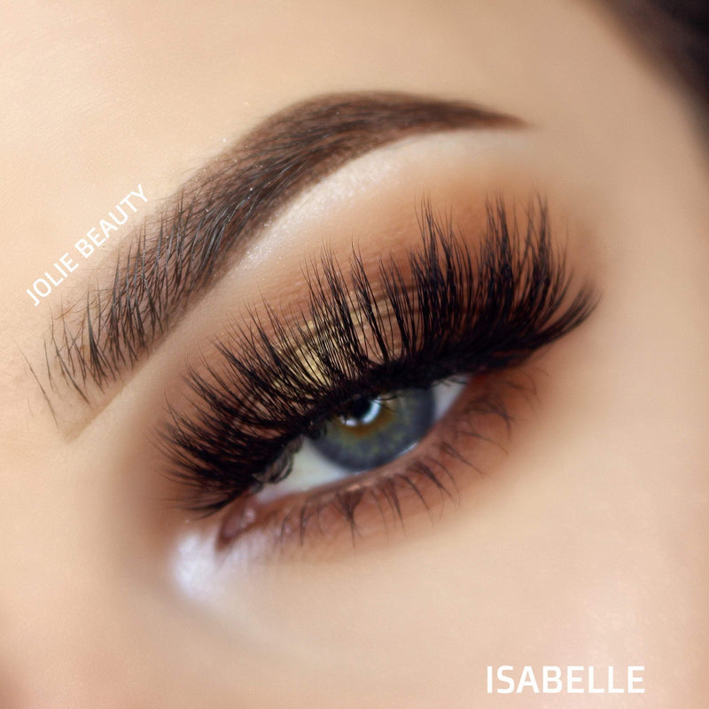 <h1>Slayin Lashes</h1> ISABELLE - Clear Band