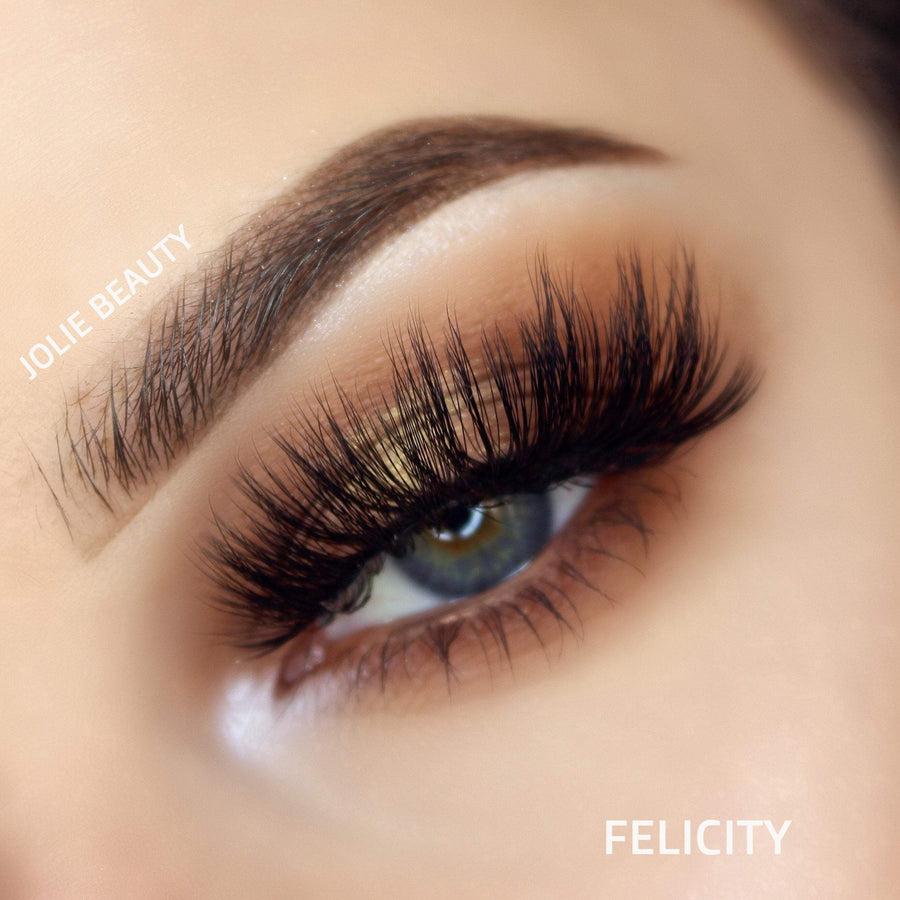 <h1>Slayin Lashes</h1> FELICITY - Clear Band - Jolie Beauty