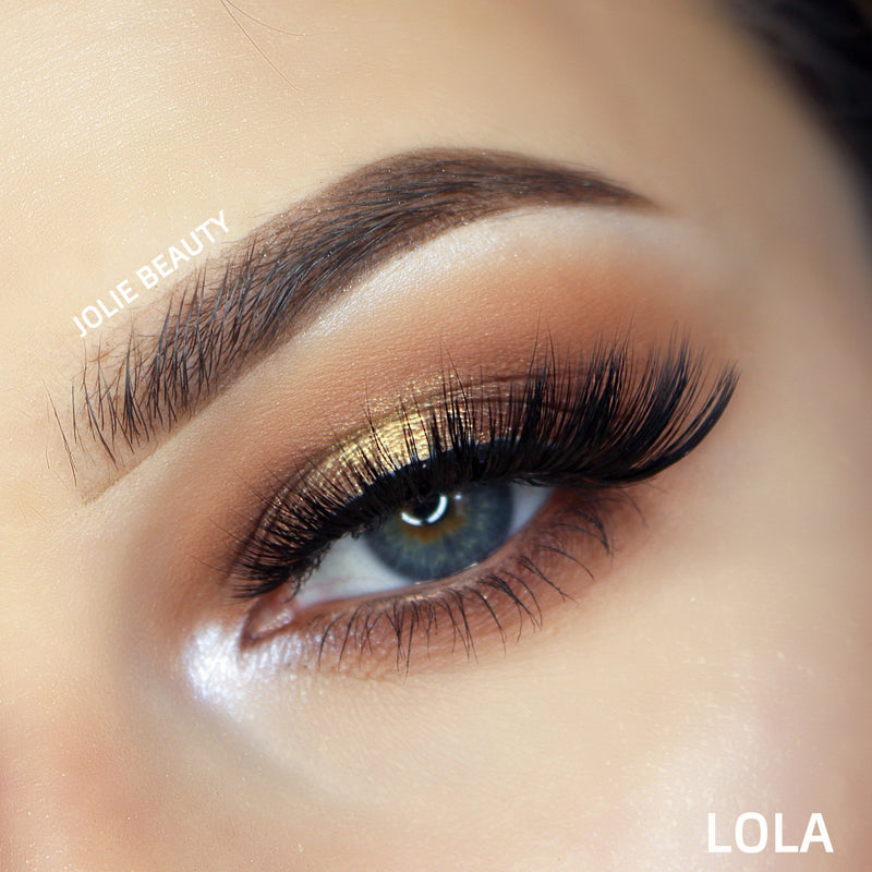 <h1>Slayin Lashes</h1> - LOLA - Clear Band - Jolie Beauty