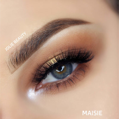 <h1>Slayin Lashes</h1> - MAISIE - Clear Band - Jolie Beauty