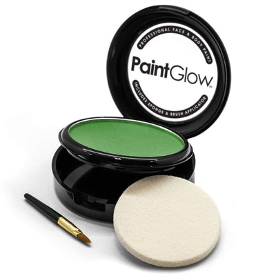 Face Paint Cake - Green (10g) Face Paint Paint Glow
