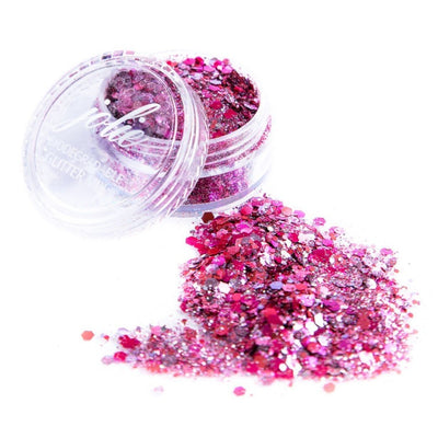 Biodegradable Chunky Mixed Festival Glitter - Summer of Love - Jolie Beauty