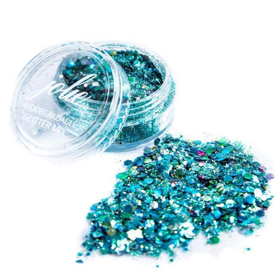 Biodegradable Chunky Mixed Festival Glitter - Little Merbabe - Jolie Beauty