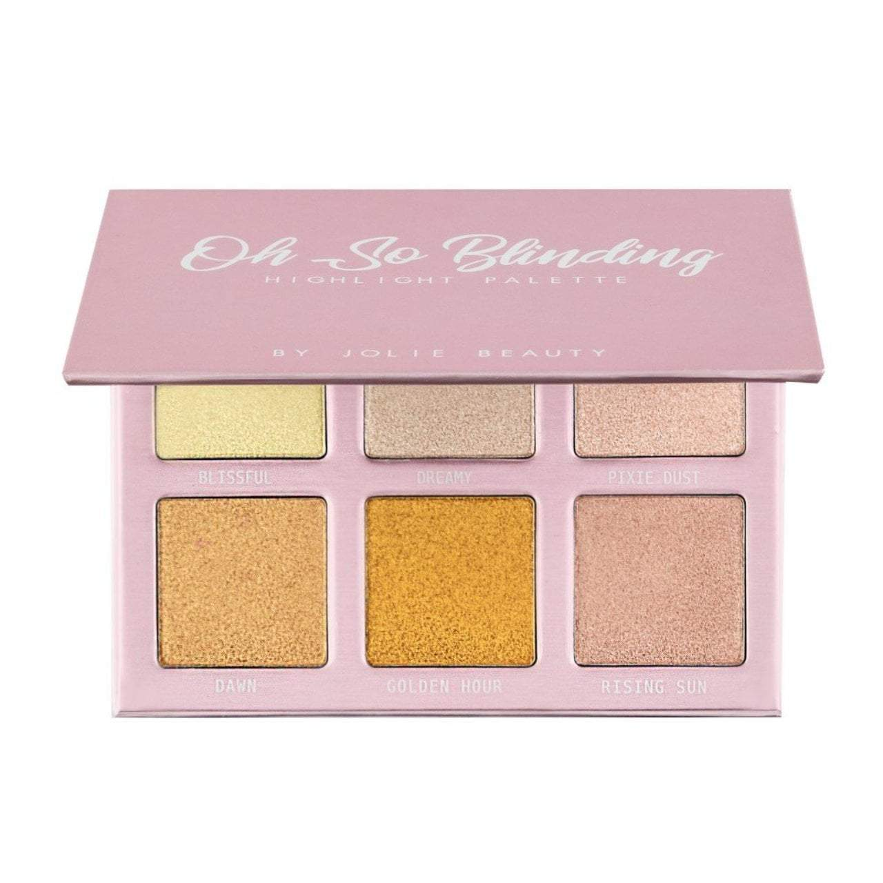 Oh So Blinding Highlighter Palette Highlighter Palette Jolie Beauty
