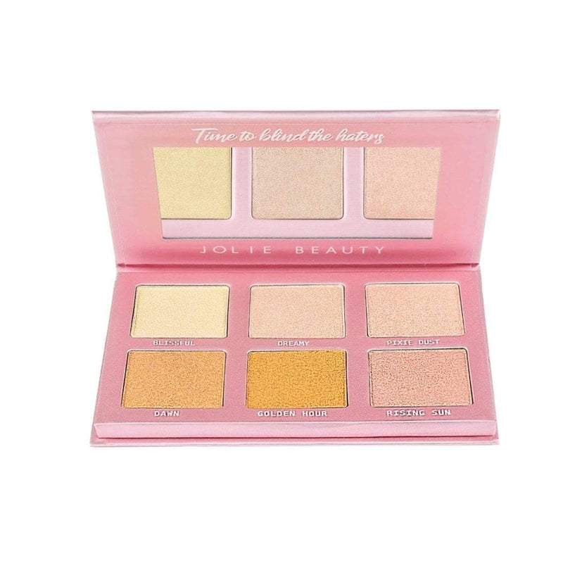 Oh So Blinding Highlighter Palette - Jolie Beauty (1334571335755)