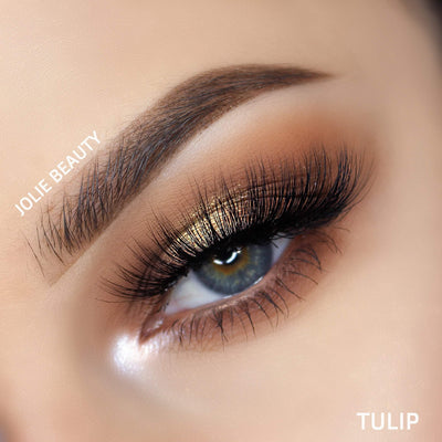 <H1>Slayin Lashes</h1> TULIP False Eyelashes JolieBeauty