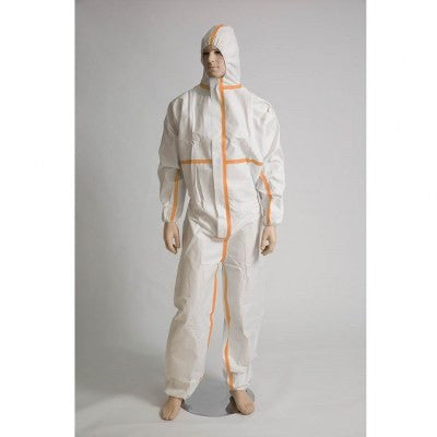 Microporous Coverall - White - Per Pair
