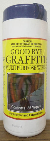 GRAFFITI WIPES - 35 WIPES