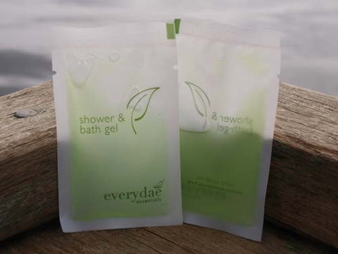 EVERYDAE BATH GEL - 10ml WHITE SACHET - 500 PCS