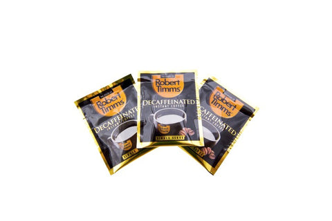 Robert Timms Decaffeinated Coffee 500 Satchets x2 Per Carton
