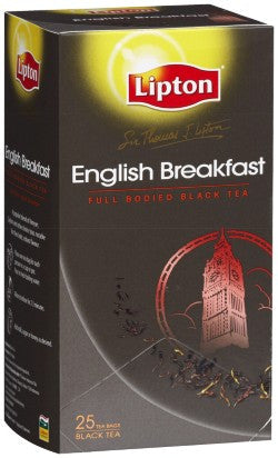 Lipton STL English Breakfast 25's x18 in Carton