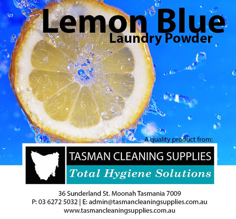 Lemon Blue Laundry Powder