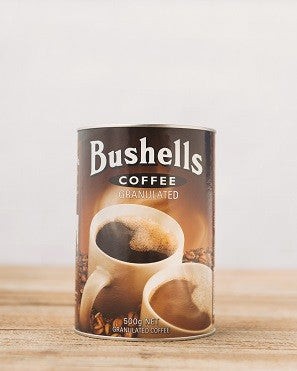 Bushells Coffee Granulated - 500g Net