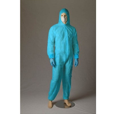 PP Coveralls XXX-Large - Blue - Per Pair