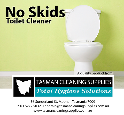 No Skids - Toilet Cleaner
