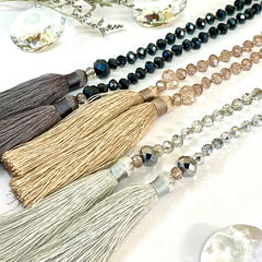 Double Tassel Necklaces