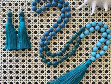 Load image into Gallery viewer, Sorbet Tassel Necklace - Neptune