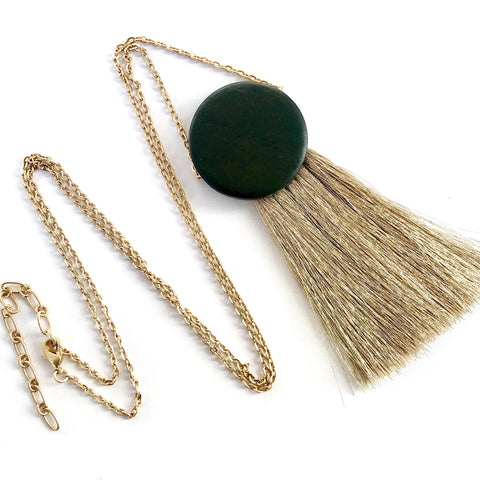 MinT - Grace Tassel Necklace