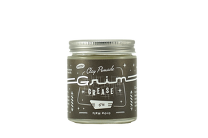 Grim Grease Firm Hold WaterBased Clay Pomade