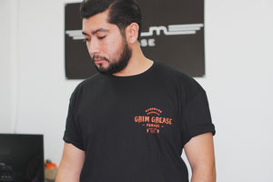 Grim Grease T Shirt (Halloween Edition)