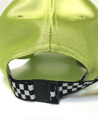 Extra Long Back Strap Ball Cap - Lime