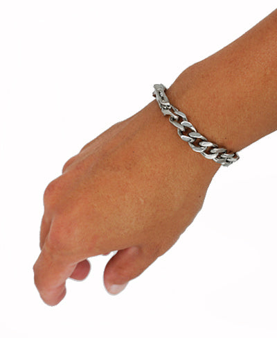 Mens Simple Bracelet - Stainless