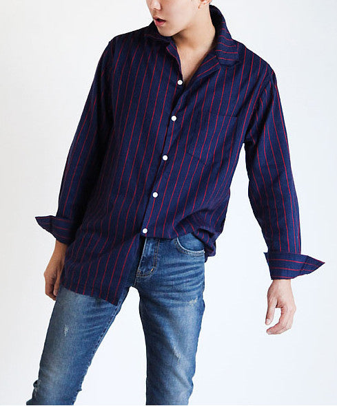 Striped Cutting Shirts