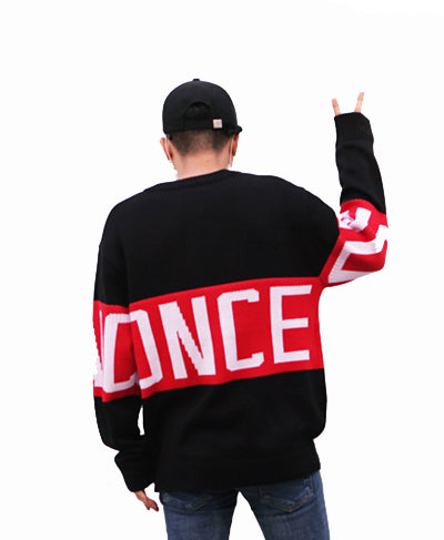 ONCE Knit Sweater - Black