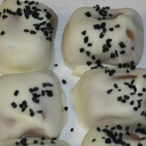 Black Hawaiian Sea Salt White Chocolate Caramels