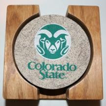 Colorado State Coaster Set