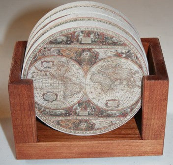Old World Passages Coaster Gift Set