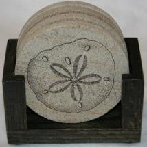 Marble Mosaic Coaster Set