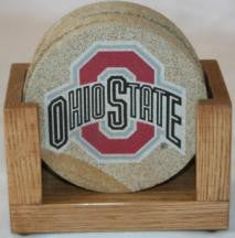 Ohio State Coaster Set