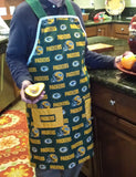 Apron - Green Bay Packer's Men's Apron