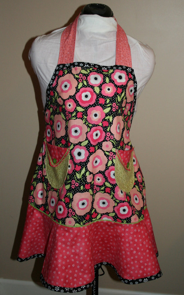 Apron - Red/Pink Women's Apron